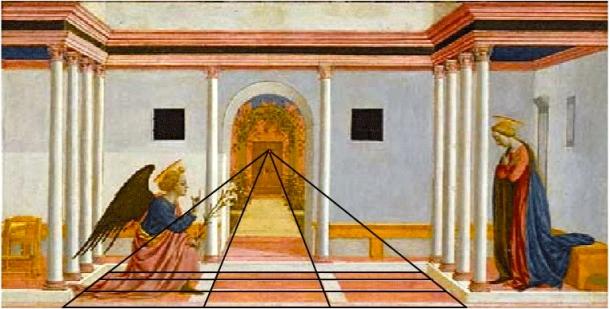 Domenico Veniziano, The Annunciation