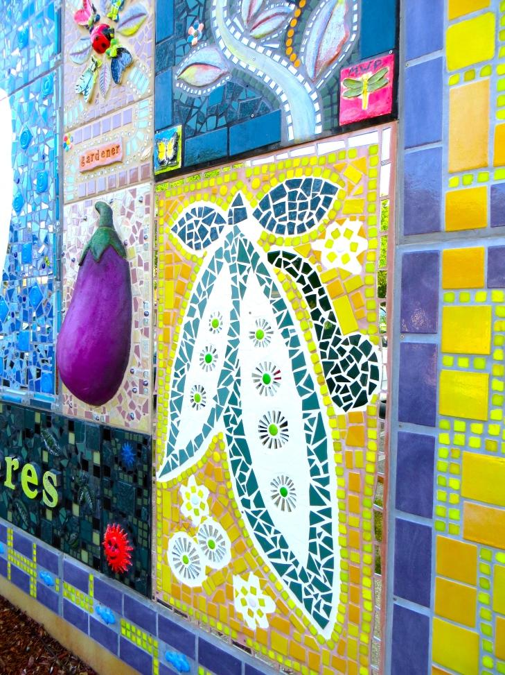 Mural Eggplant