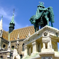 Statue of St. Stephen, Budapest, Hungary