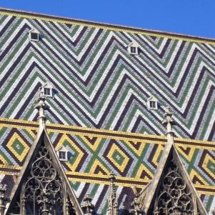 Stephensdom Roof, Vienna, Austria
