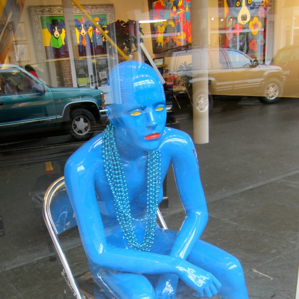 Blue Woman, New Orleans USA 1