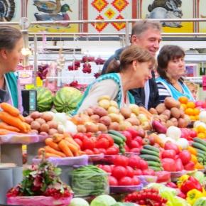 Kyiv's Besarabsky Market: Gude DeescountPrices