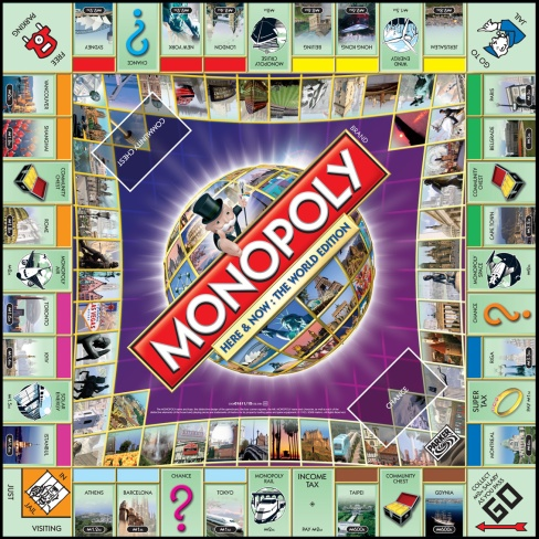 Monopoly-World Edition