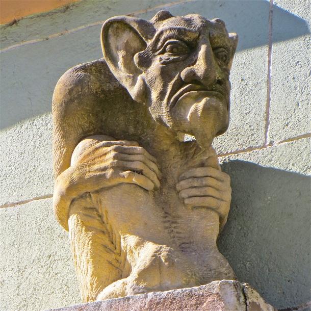 Grumpy Gargoyle