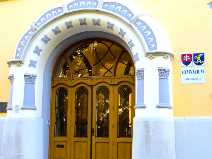 Gymnazium Entrance