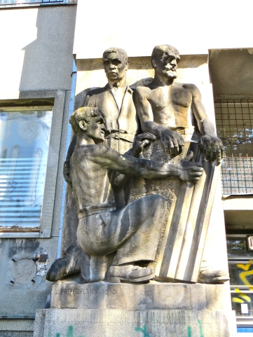 Soviet Hospital Statue 2