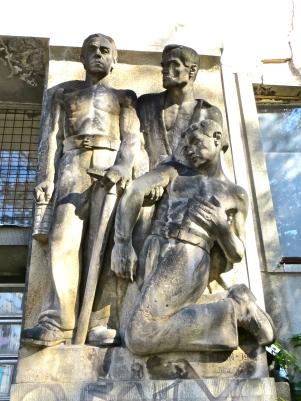 Soviet Hospital Statue