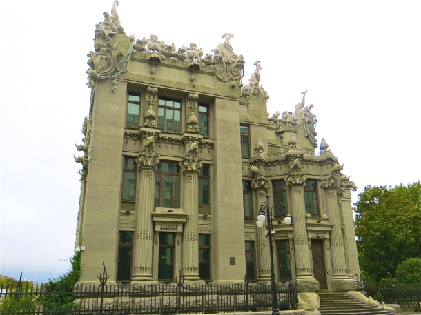 House with Chimeras