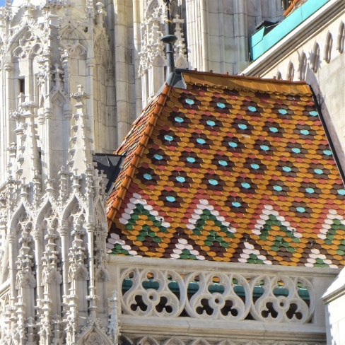Matthias church roof