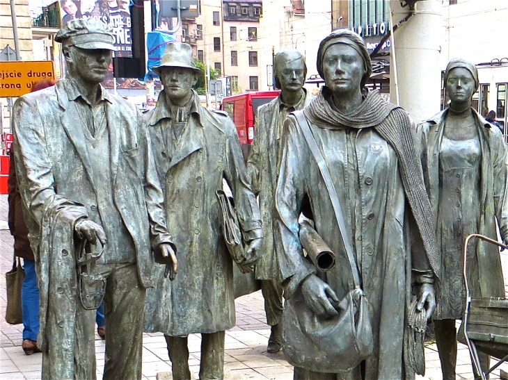 Anonymous Pedestrian Faces