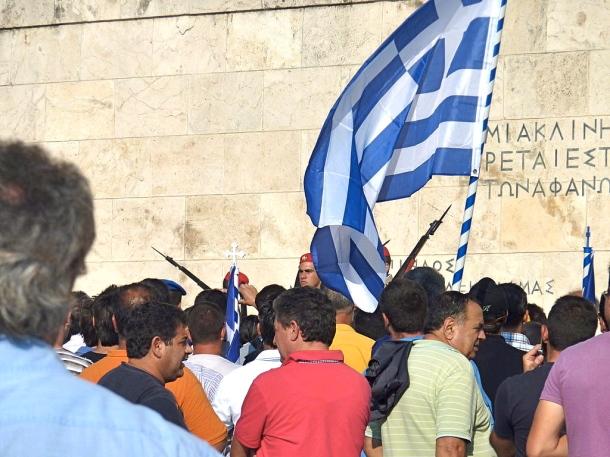 Syntagma Demonstration