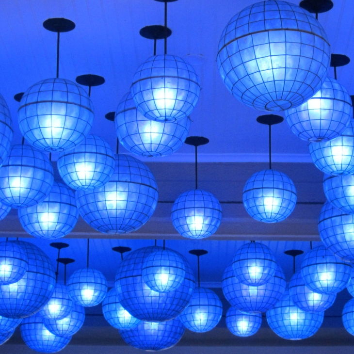 W Hotel NOLA Blue Lights