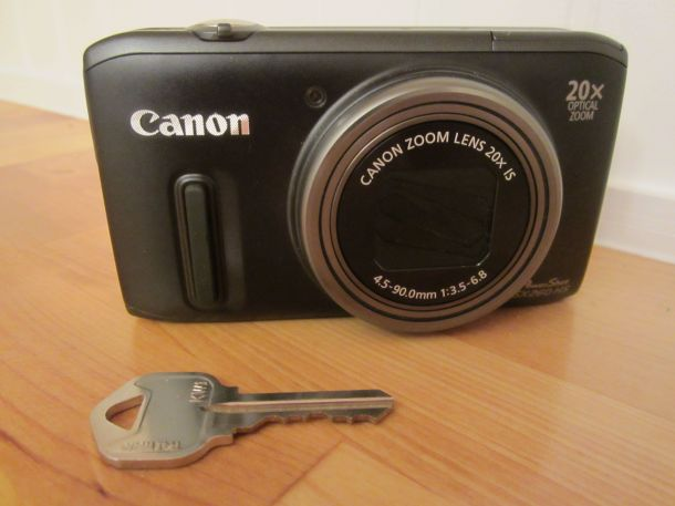 Camera w key