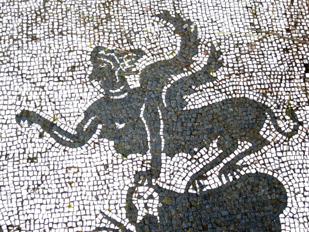 Winged Creature mosaic
