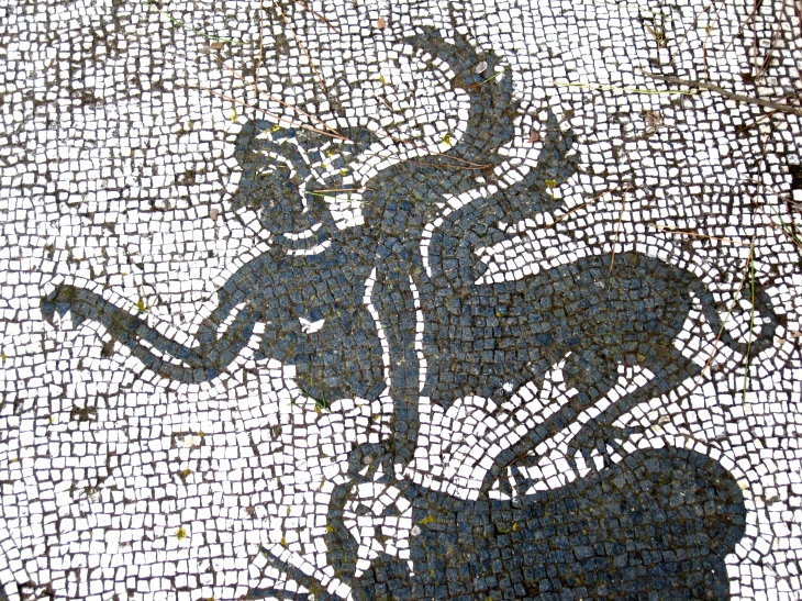Winged Creature mosaic