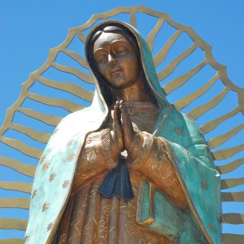 Guadalupe Statue