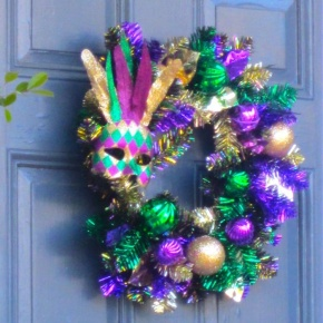 The Mardi Gras Doors of New Orleans