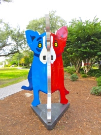 Blue-Red Dog 6