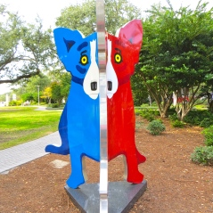 Blue-Red Dog 6