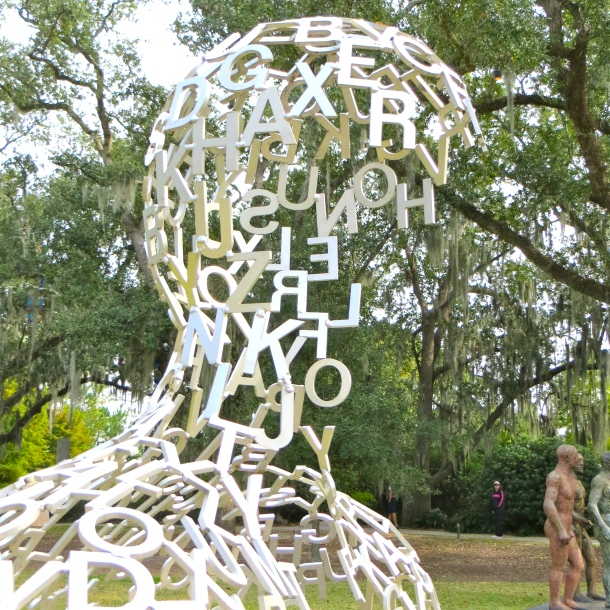 Overflow by Jaume Plensa 2005