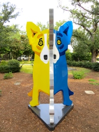 Yellow-Blue Dog 2