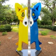 Yellow-Blue Dog 2