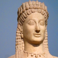 Bust of Athens Woman