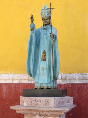 Pope Statue-Guanajuato