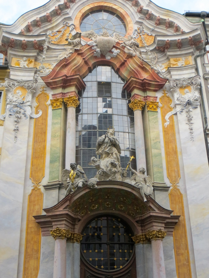 Asam Church Exterior