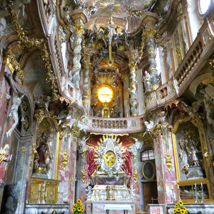 Asam Church Interior