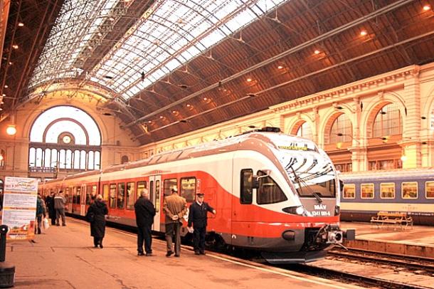 Budapest's Keleti Station