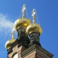 Greek Orthodox domes