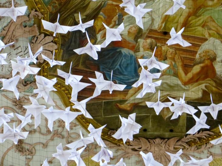 Holy Spirit Church Doves