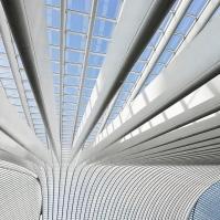 Liege, Belgium Railway Station