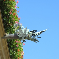 Dragon downspout