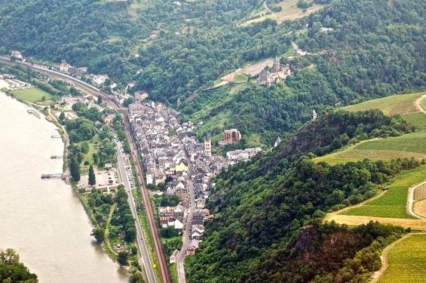 Bacharach Aerial View