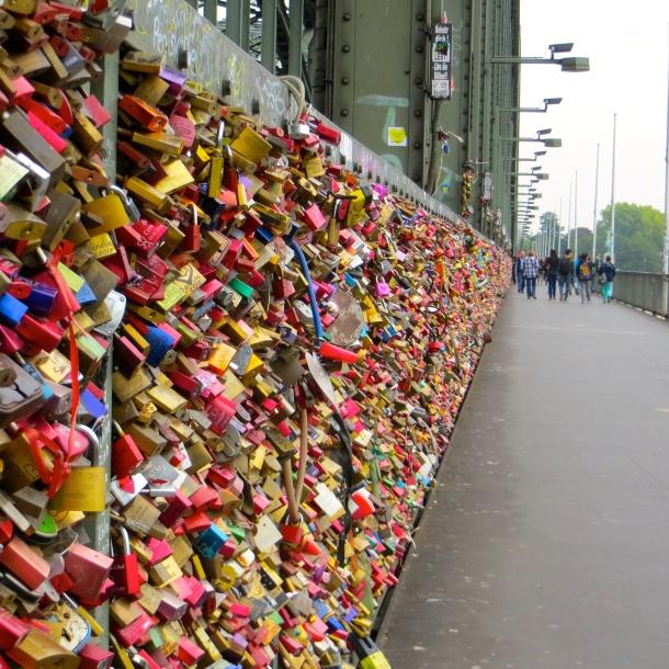 Cologne's Locks of Love Bridge