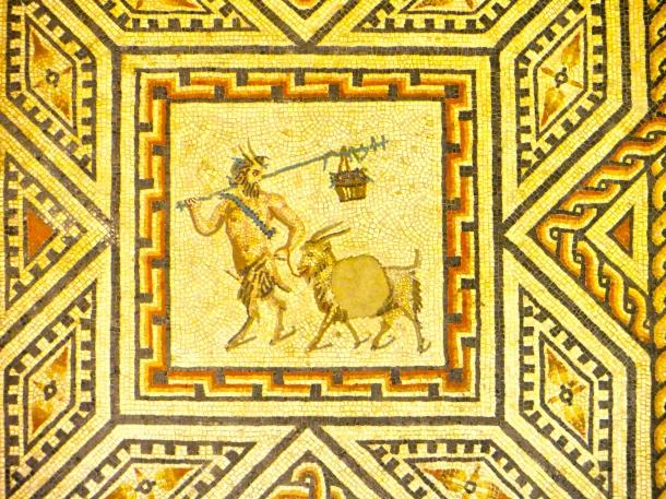 Goat Mosaic