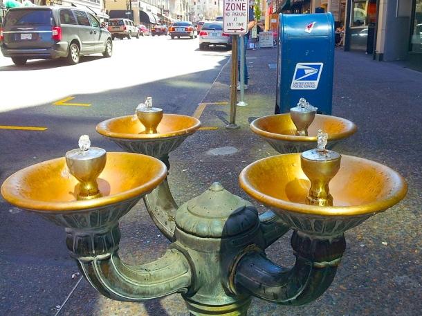 Portland Street fountains