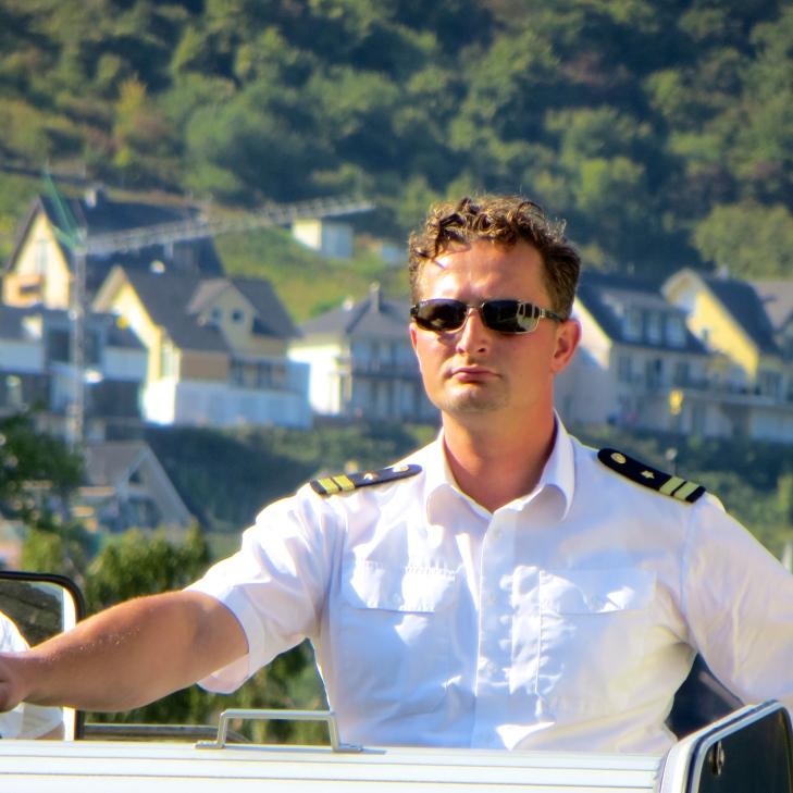 Rhine Cruise Captain