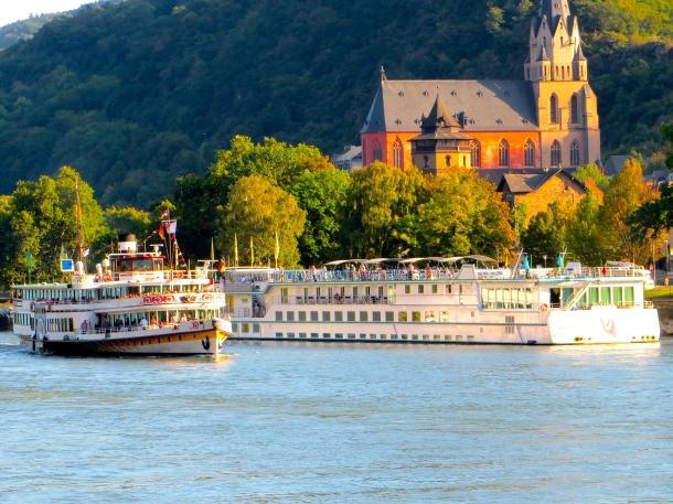 Rhine Cruise Ships