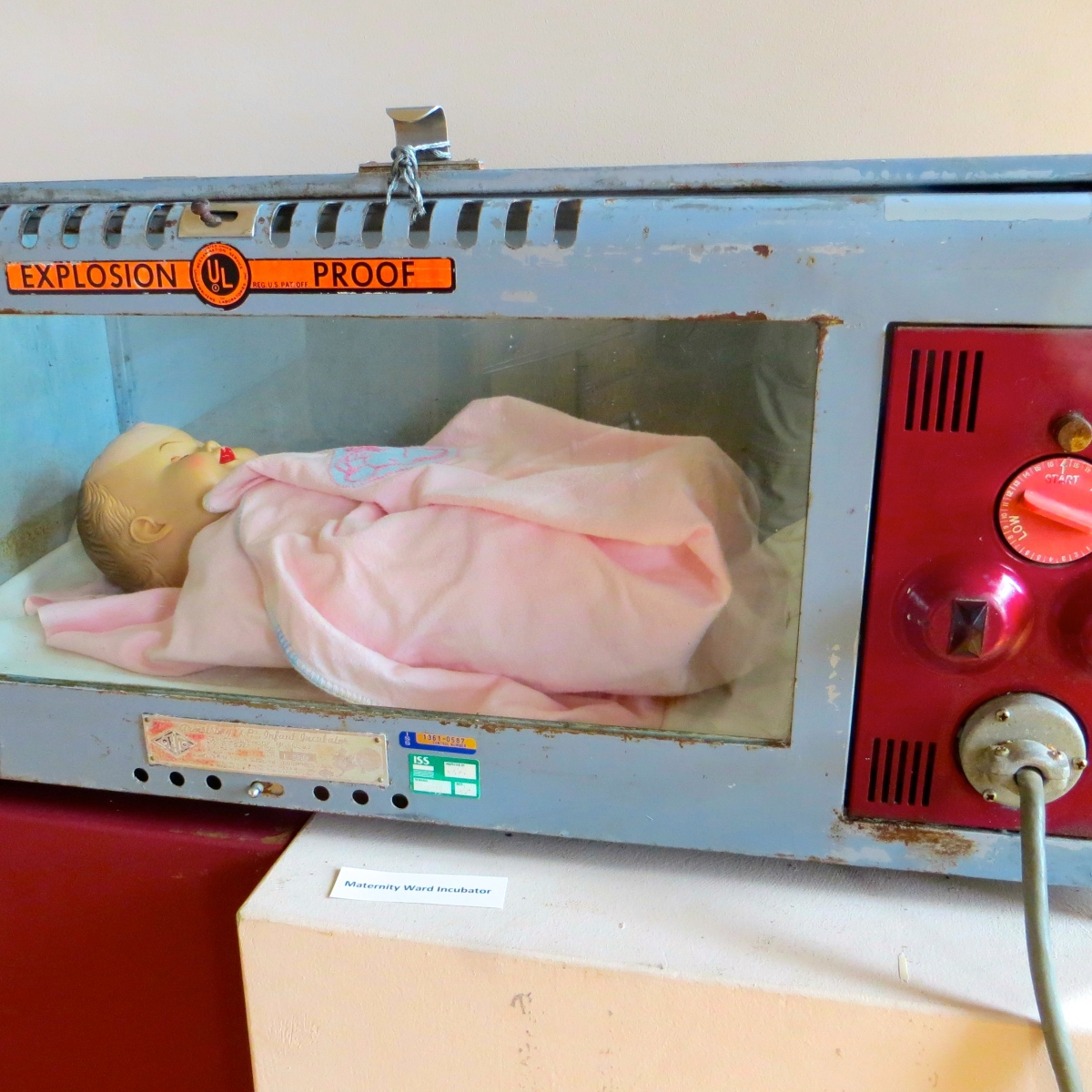 Explosion-Proof Baby Incubator? Good Technology - Worst Product Name in History
