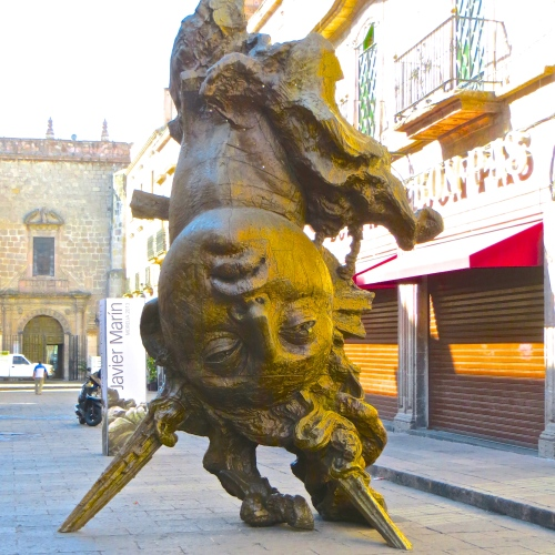 Javier Marin Sculpture-Morelia