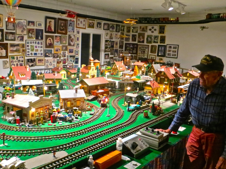 Wally's Train Room