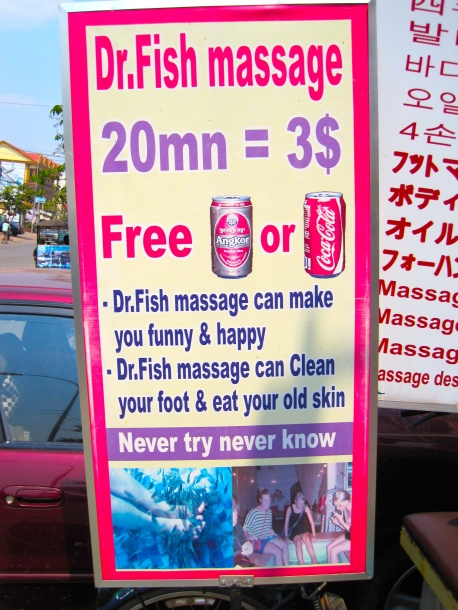 Dr Fish Massage