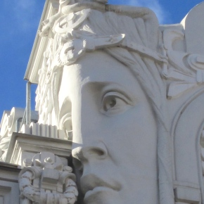 A Face-Off on the Façade: Riga's Art Nouveau Masterpiece