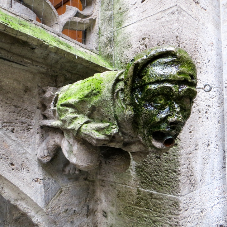 Munich Man Gargoyle