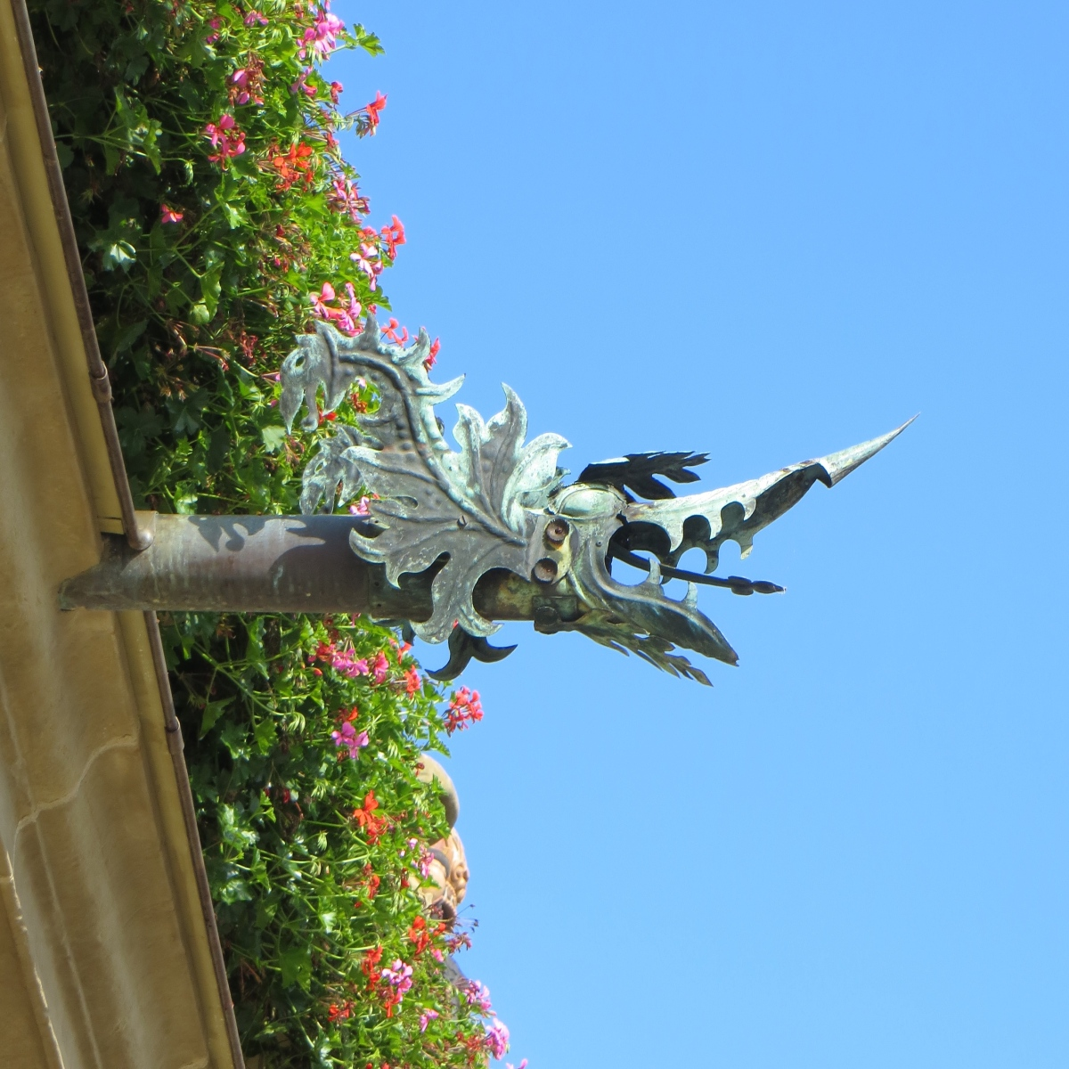 Gurgling Gargoyles: Artfully Draining Water
