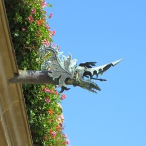 Gurgling Gargoyles: Artfully DrainingWater