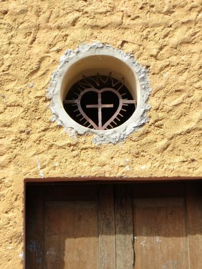 SMA Heart Above Door
